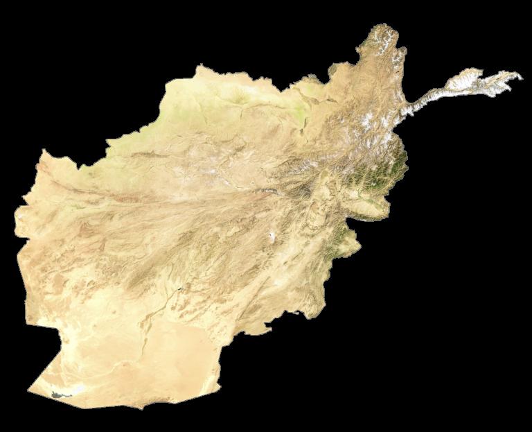 Afghanistan Satellite Map