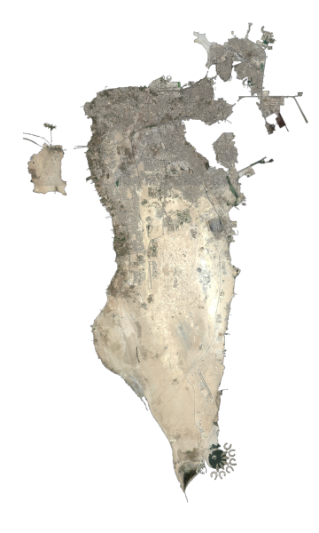Bahrain Satellite Map
