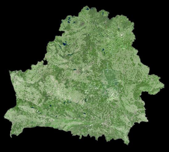 Belarus Satellite Map