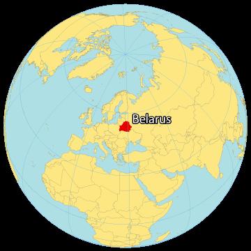 Belarus World Map