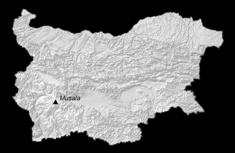 Bulgaria Elevation Map