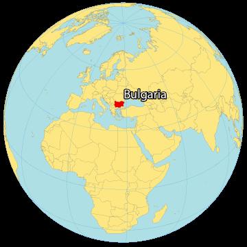 Bulgaria World Map