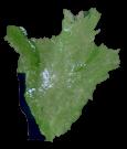 Burundi Satellite Map