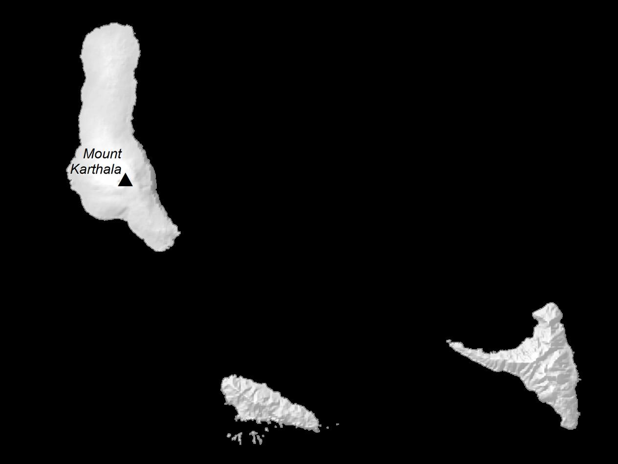 Comoros Elevation Map