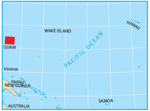 Guam Map Extent