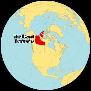 Northwest Territories Canada Map