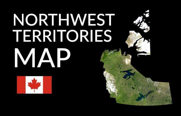 Northwest Territories Map