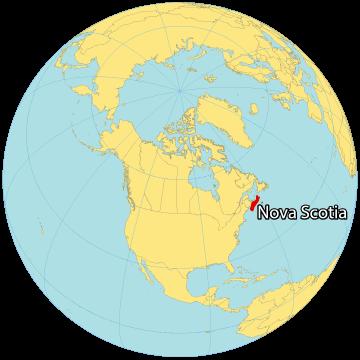 Nova Scotia Canada Map