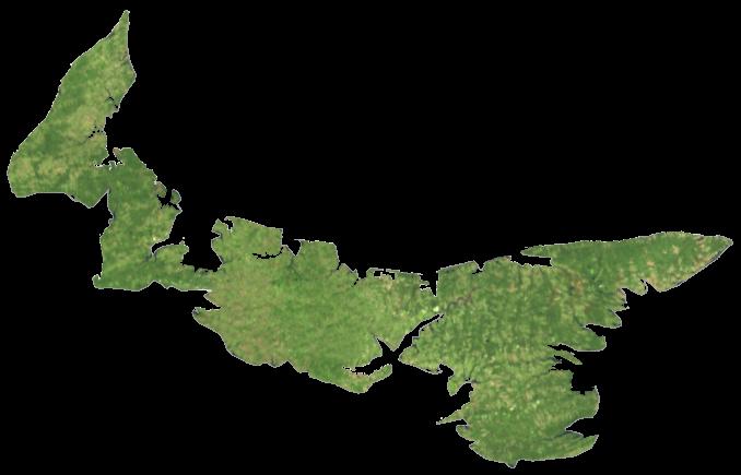 Prince Edward Island Satellite Map