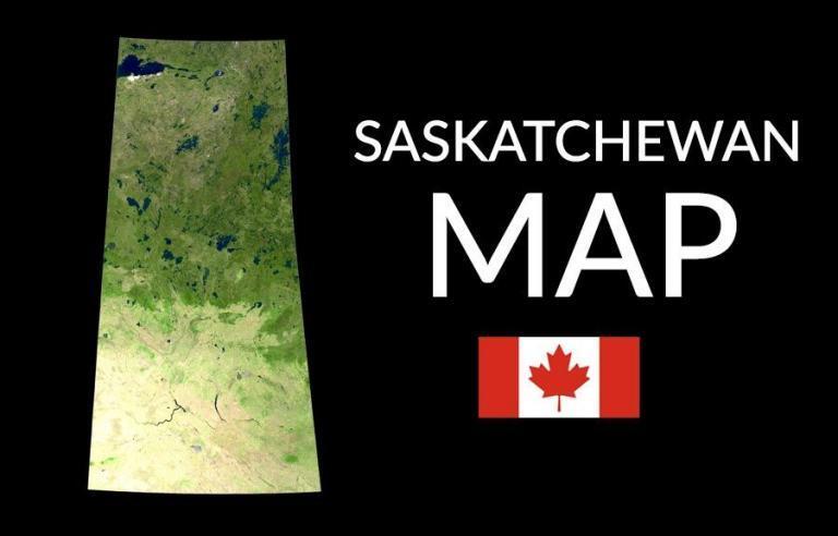 Saskatchewan Map – Cities and Roads
