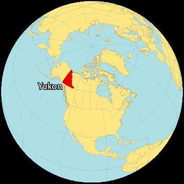 Yukon Canada Map