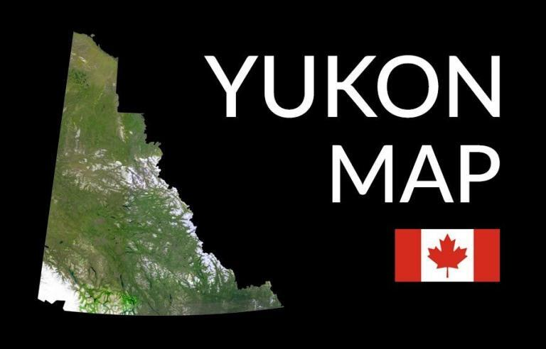 Map of Yukon Territory