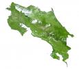 Costa Rica Satellite Map