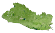 El Salvador Satellite Map