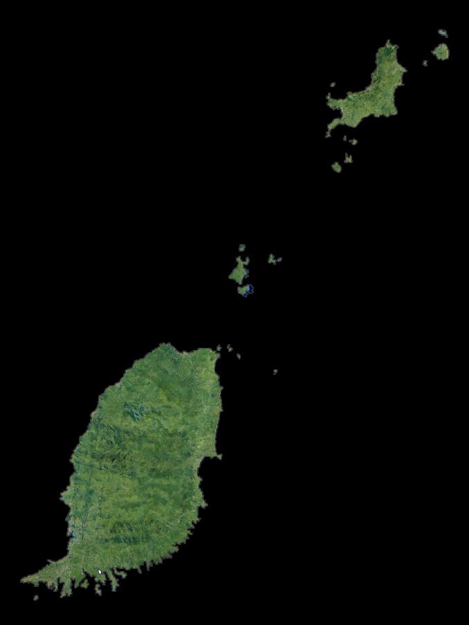Grenada Satellite Map