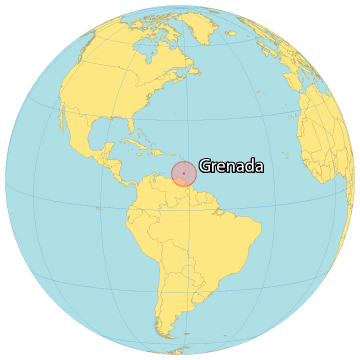 Grenada World Map