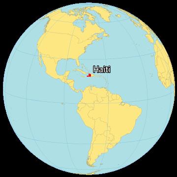 Haiti World Map