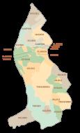 Liechtenstein Muncipality Map