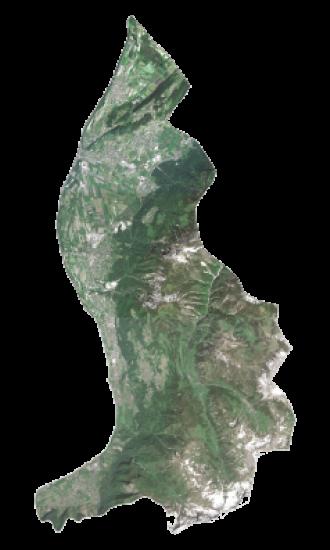 Liechtenstein Satellite Map