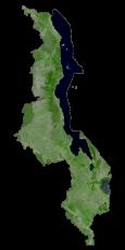 Malawi Satellite Map