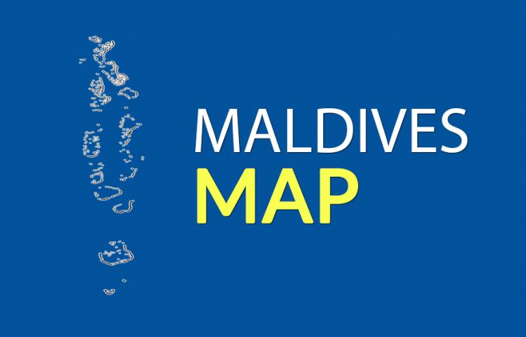 Maldives Map