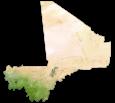 Mali Satellite Map
