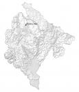 Montenegro Hillshade Map