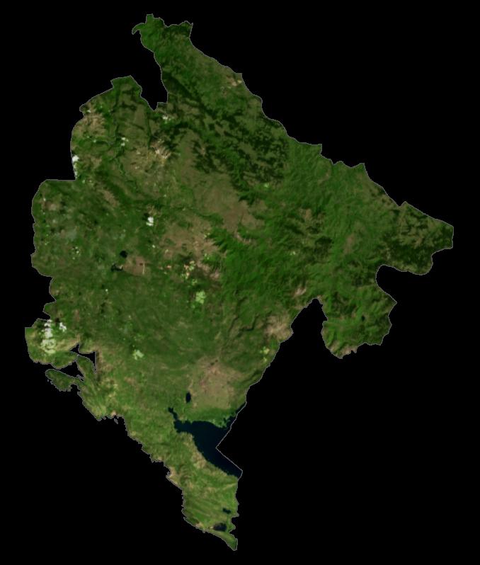Montenegro Satellite Map