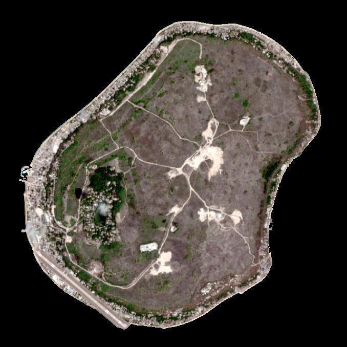 Nauru Satellite Map
