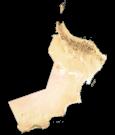 Oman Satellite Map