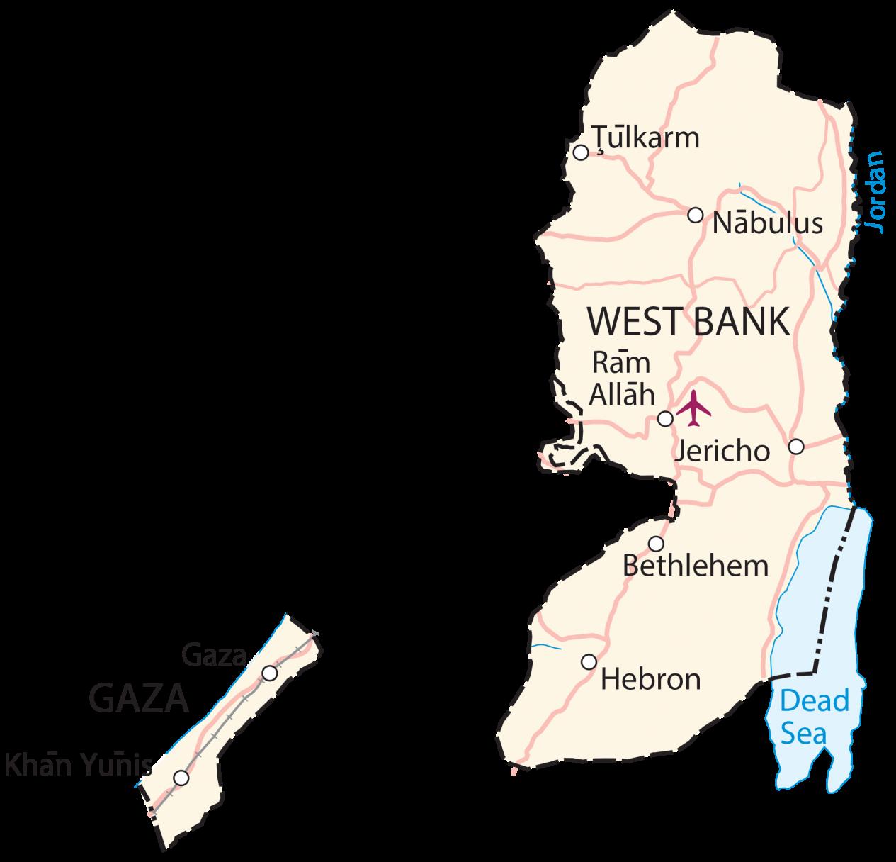 Palestine Map