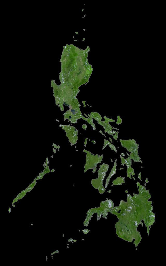 Philippines Satellite Map