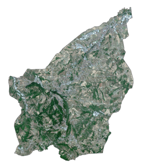 San Marino Satellite Map