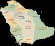 Saudi Arabia Administrative-Map