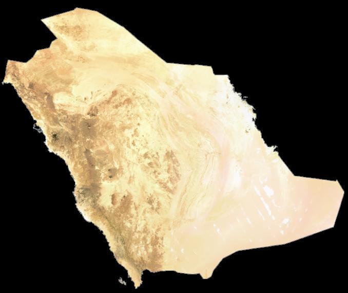 Saudi Arabia Satellite Map