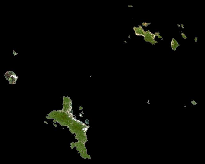 Seychelles Satellite Map