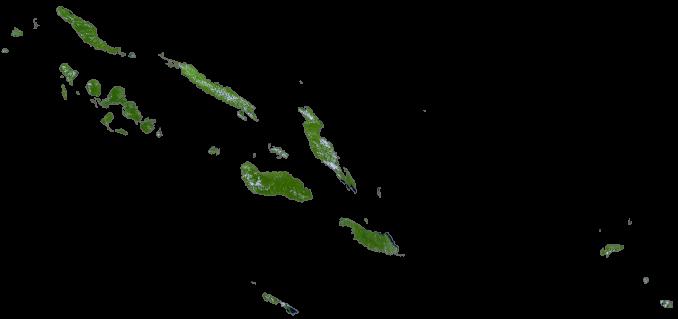 Solomon Islands Satellite Map