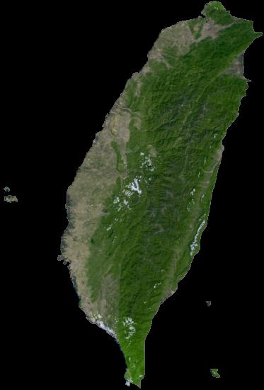 Taiwan Satellite Map