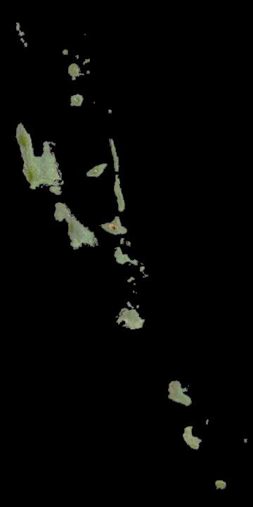 Vanuatu Satellite Map