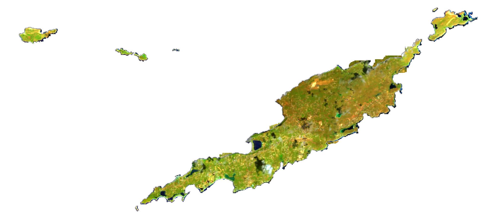 Anguilla Satellite Map
