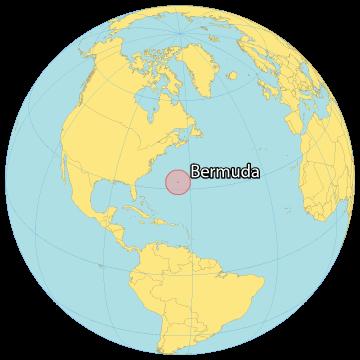 Bermuda World Map