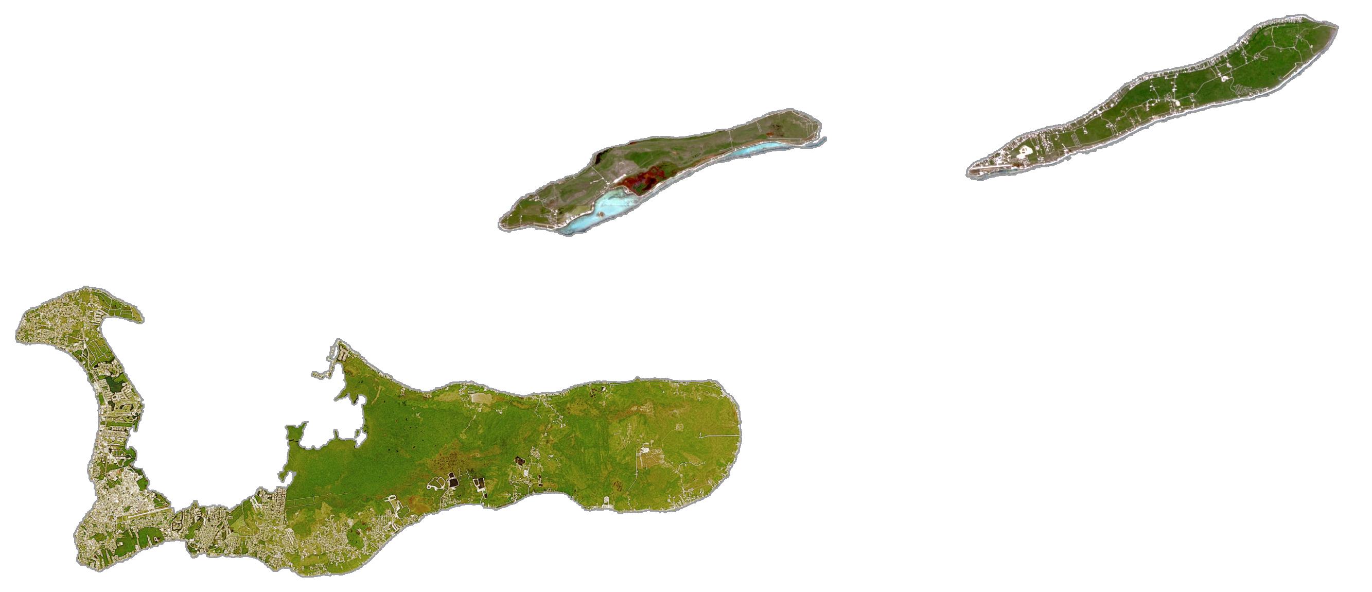 Cayman Islands Satellite Map