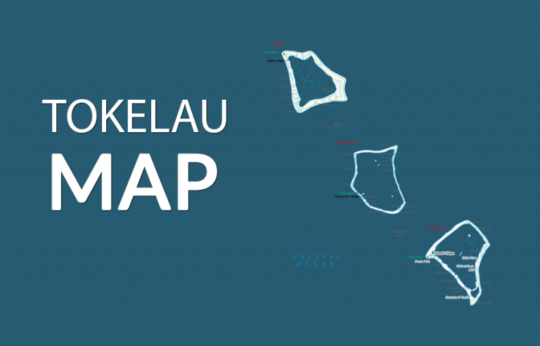 Tokelau Map