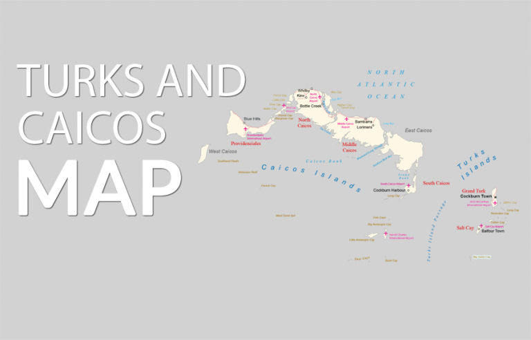 Turks and Caicos Map