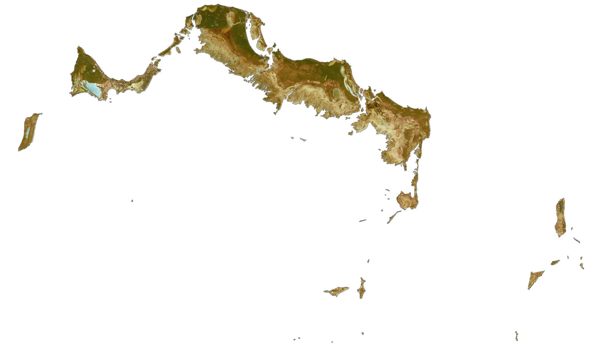 Turks and Caicos Satellite Map