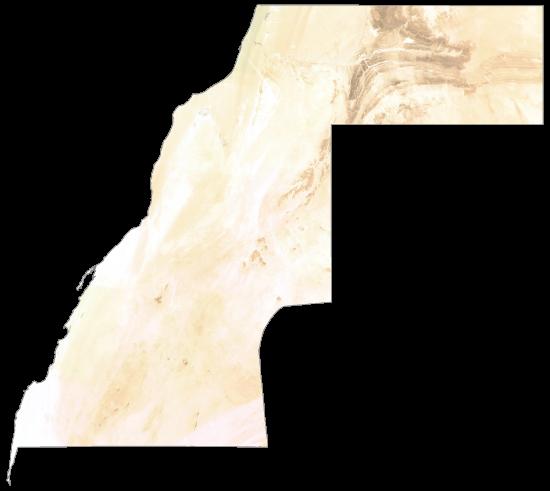 Western Sahara Satellite Map